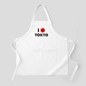 I Heart [Love] Tokyo BBQ Apron